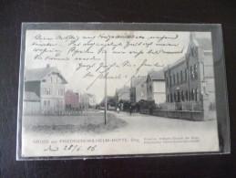 Gruss Aus Friedrich - Wilhelms - Hütte Sieg Troisdorf 1906 - Troisdorf
