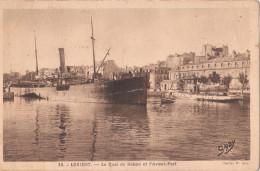 LORIENT  ( 56 ) Le Quai De Rohan Et L'avant Port - Lorient