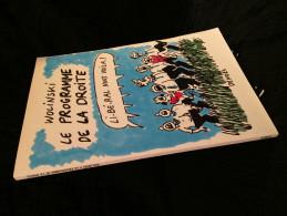 WOLINSKI - Le Programme De La Droite (54RBD2) - Wolinski