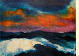 Emil Nolde, Art Painting Postcard Unposted - Peintures & Tableaux