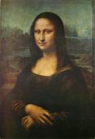 Leonardo Da Vinci, Art Painting Postcard Unposted - Paintings