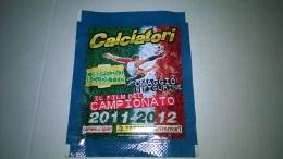 Calciatori 2011-12 Lo Sprint Scudetto,,bustina   Chiusa Con Figurine  Panini - Panini