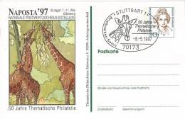 Germany - Postal Stationary - Entier - 1997 : Giraf