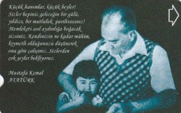 Turkey, N-380, Atatürk And Little Ülkü, 2 Scans. - Turchia
