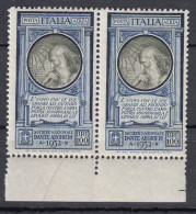 Regno D´Italia - Posta Aerea 1932 Pro Società Dante Alighieri 100 Lire MNH - 1900-44 Victor Emmanuel III.