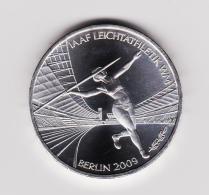 "10 Euro Sport Gedenkmünzen 2009 "" Leichthatletik WM "" J Stgl. - [10] Commemorative"