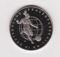 10 Euro  Sport-Gedenkmünzen  2011   Frauen Fußball WM   J A  Stgl. - [10] Commémoratives