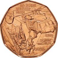 Autriche, 5 Euro, 2015, Bronze, KM:New - Autriche
