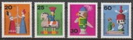 BRD      .     Yvert   551/554          .       **     .      Postfrisch    .    /   .    MNH - Neufs