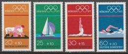 BRD      .     Yvert   570/573         .       **     .      Postfrisch    .    /   .    MNH - BRD