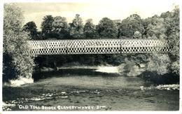 GWENT - OLD TOLL BRIDGE - GLANGRYWYNEY RP Gw274 - Breconshire