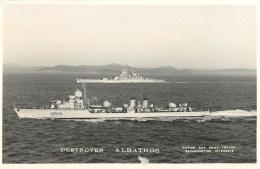 DESTROYER ALBATROS PHOTOGRAPHE TOULON MARIUS BAR CROISEUR MARINE NAVIRE DE GUERRE PAQUEBOT BOAT TRANSPORT BATEAU - Guerre