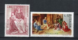Italia 1978. Yvert 1362-63 ** MNH. - 1971-80:  Nuevos