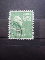 USA N°369 GEORGE WASHINGTON Oblitéré - George Washington