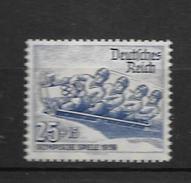 1935 MNH Germany Bob, Postfris** - Winter 1936: Garmisch-Partenkirchen
