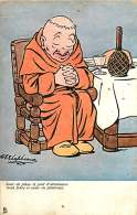 ILLUSTRATEUR - 051016 - TUCK - Jour De Jeûne Et D'abstinence Pénitence - Moine Religion Humour - Tuck, Raphael