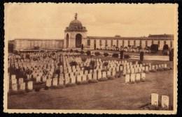 TYNE COT CEMETERY AND MEMORIAL PASSCHENDAELE - RARE FIRST WAR CARD ! BRITISH WAR CEMETERY - Zonnebeke