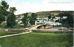 GWENT - CRICKHOWELL FROM THE BRIDGE 1907  Gw117 - Breconshire