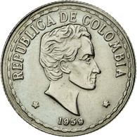 Monnaie, Colombie, 20 Centavos, 1959, TTB+, Copper-nickel, KM:215.1 - Colombia