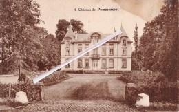 POMMEROEUL - Le Château - Superbe Carte Envoyée à La Rue De Gage à Mons - Bernissart