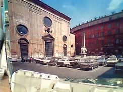 ROMA PIAZZALE MINERVA AUTO CAR  FIAT VARI MODELLI   N1704 FQ5879 - Places & Squares