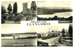 GWENT - LLANGORSE - 4 RP VIEWS  Gw121 - Breconshire