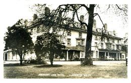 POWYS - LLANWRTYD WELLS - ABERNANT LAKE HOTEL RP Pow61 - Breconshire