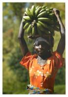 Woman Carrying Matooke, Rubuguri, Uganda Postcard Unposted - Uganda