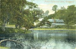 POWYS - WELSHPOOL - POWIS CASTLE AND LAKE Pow83 - Montgomeryshire