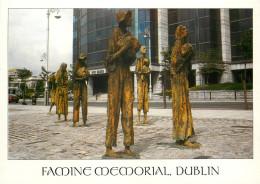 Famine Memorial, Dublin, Ireland Postcard Unposted - Dublin
