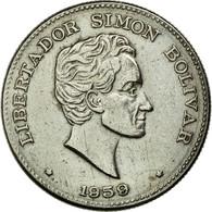 Monnaie, Colombie, 50 Centavos, 1959, TTB+, Copper-nickel, KM:217 - Colombia