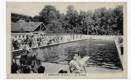 EPERNON EN 1948 - N° 2 - LA PISCINE ANIMEE - FORMAT CPA NON VOYAGEE - Epernon