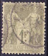 2016-0645 France Mi 67II Oblitéré O - 1876-1898 Sage (Type II)
