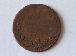 BELGIQUE 2 LIARD FRANCOIS II - AD USUM BELGII AUSTR 1789 - Belgique
