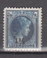 Luxembourg 1929,1V,charlotte Ovpt,MH/Ongebruikt(A2838) - Ongebruikt