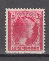 Luxembourg 1934,1V,charlotte ,MH/Ongebruikt(A2839) - Luxemburg