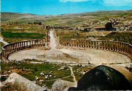 Forum, Jerash, Jordan Postcard Unposted