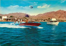 Water Skiing, Aqaba, Jordan Postcard Unposted
