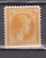 Luxembourg 1930,1V,charlotte ,MH/Ongebruikt(A2841) - Ongebruikt