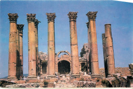 Temple Of Artemis, Jerash, Jordan Postcard Unposted
