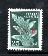RSI101 - R.S.I. , Posta Aerea N. 117  *** MNH - 4. 1944-45 Repubblica Sociale
