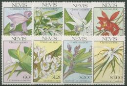 Nevis 1990 Weihnachten: Orchideen 558/65 Postfrisch - Briefmarken