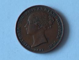 JERSEY 1-26 1/26 SHILLING 1841 - Jersey