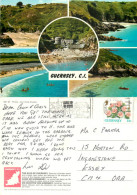 Multiview, Guernsey Postcard Posted 1993 Stamp - Guernsey
