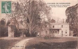 MONT CAUVAIRE - Collège De Normandie - Construction élevée Sur L'emplacement Du Vieux Château Du Fossé - Non Classificati