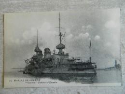 """MARINE DE GUERRE   CUIRASSE D'ESCADRE    LE  """" GAULOIS """" - Warships"""