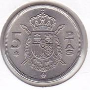 Spain - 5 Pesetas 1975-77 UNC - [ 5] 1949-… : Royaume
