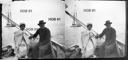 Photographie - Plaque De Verre - Début 20e - Charette à Bois, Troupeau (B 513-1, Lot 2) - Glasplaten