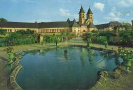 LUSSEMBURGO - LUXEMBOURG - 19?? - Missed Stamp + Flamme Echternach Pour Les Vacances - Basilique - Viaggiata Da Echte... - Echternach