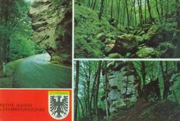 LUSSEMBURGO - LUXEMBOURG - 1967 - 2F + Flamme Vianden Joyau Des Ardennes - Echternach - Petite Suisse Luxembourgeoise... - Echternach